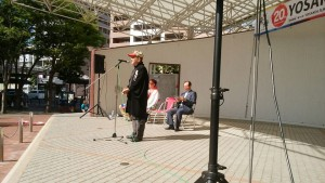 式典では、歴代実行委員長、および朝長市長より激励のお言葉をいただきました。